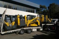 Five Forklift Transport