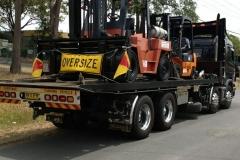 Big Forklift Towing