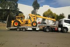 Industrial truck transport