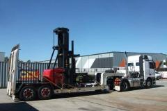 Industrial machiney transport