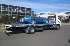 Classic Blue Car Transport