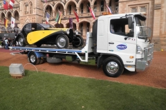 Classic vintage car transport