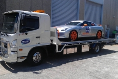 Race Car Transporting