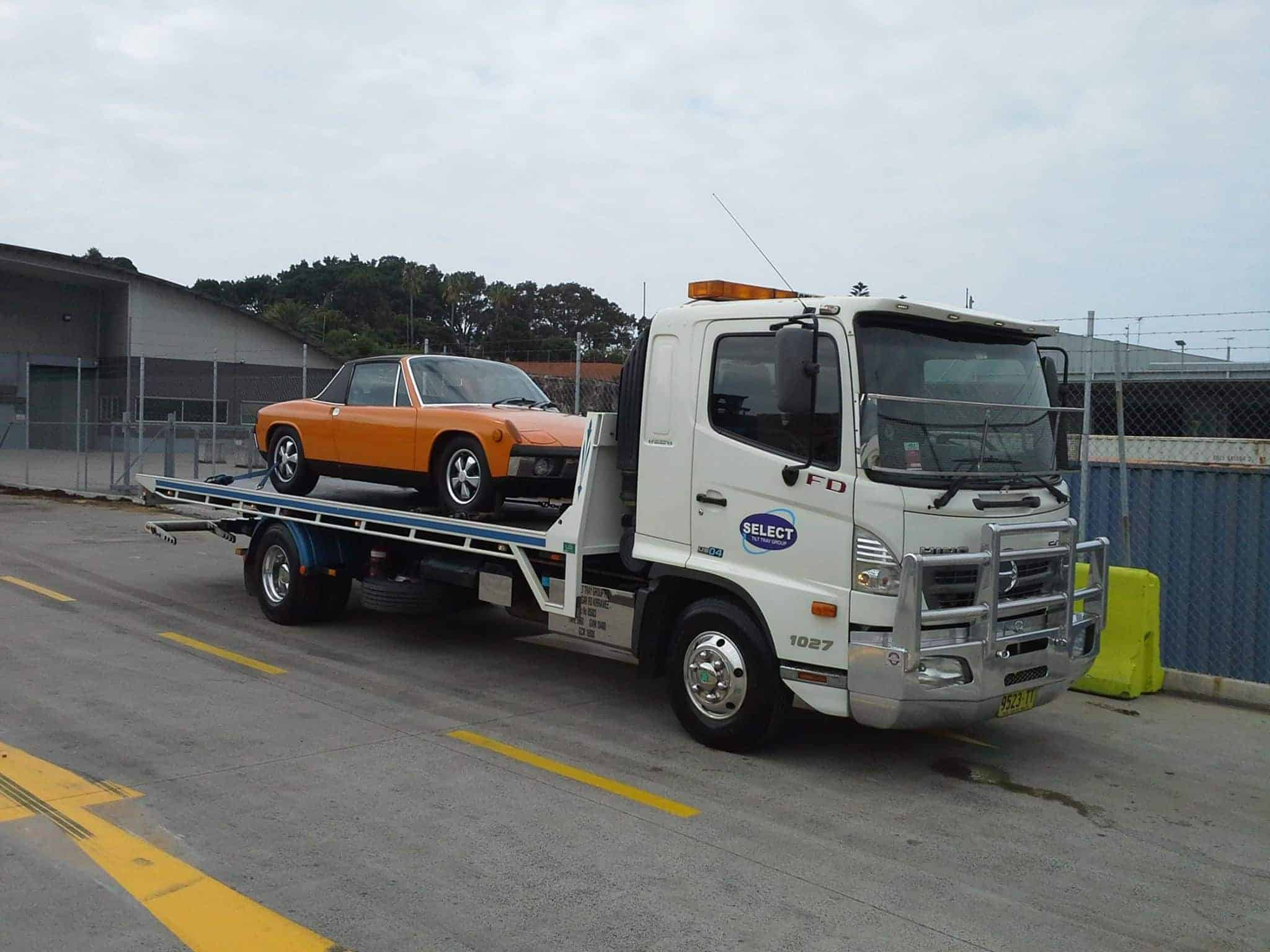 sydney car towing services