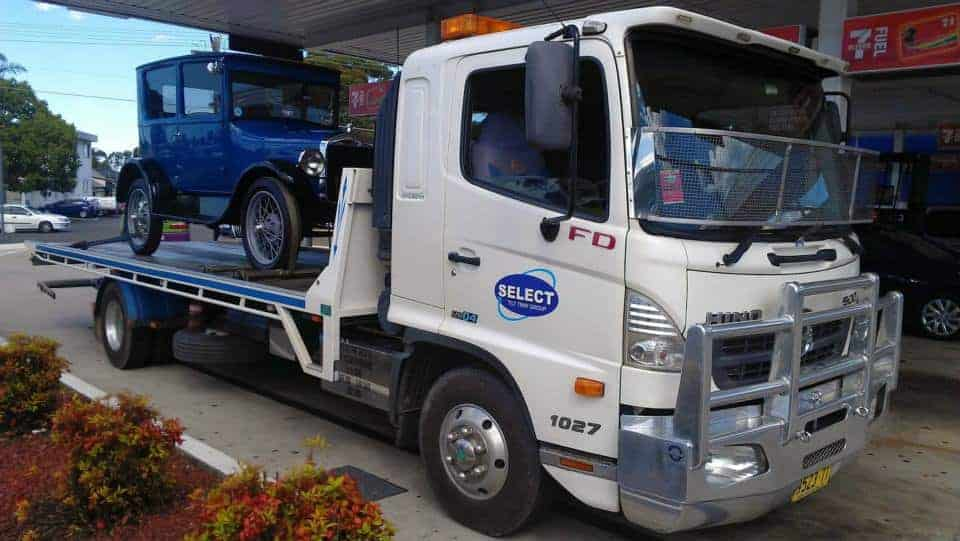 prestige car towing service in sydney