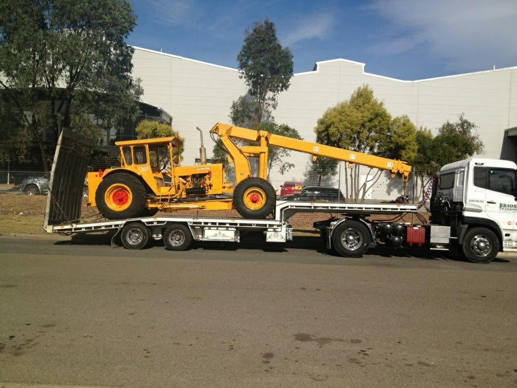 Industrial Equipment Transportation