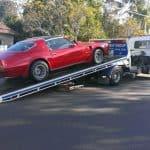 Exotic car towing