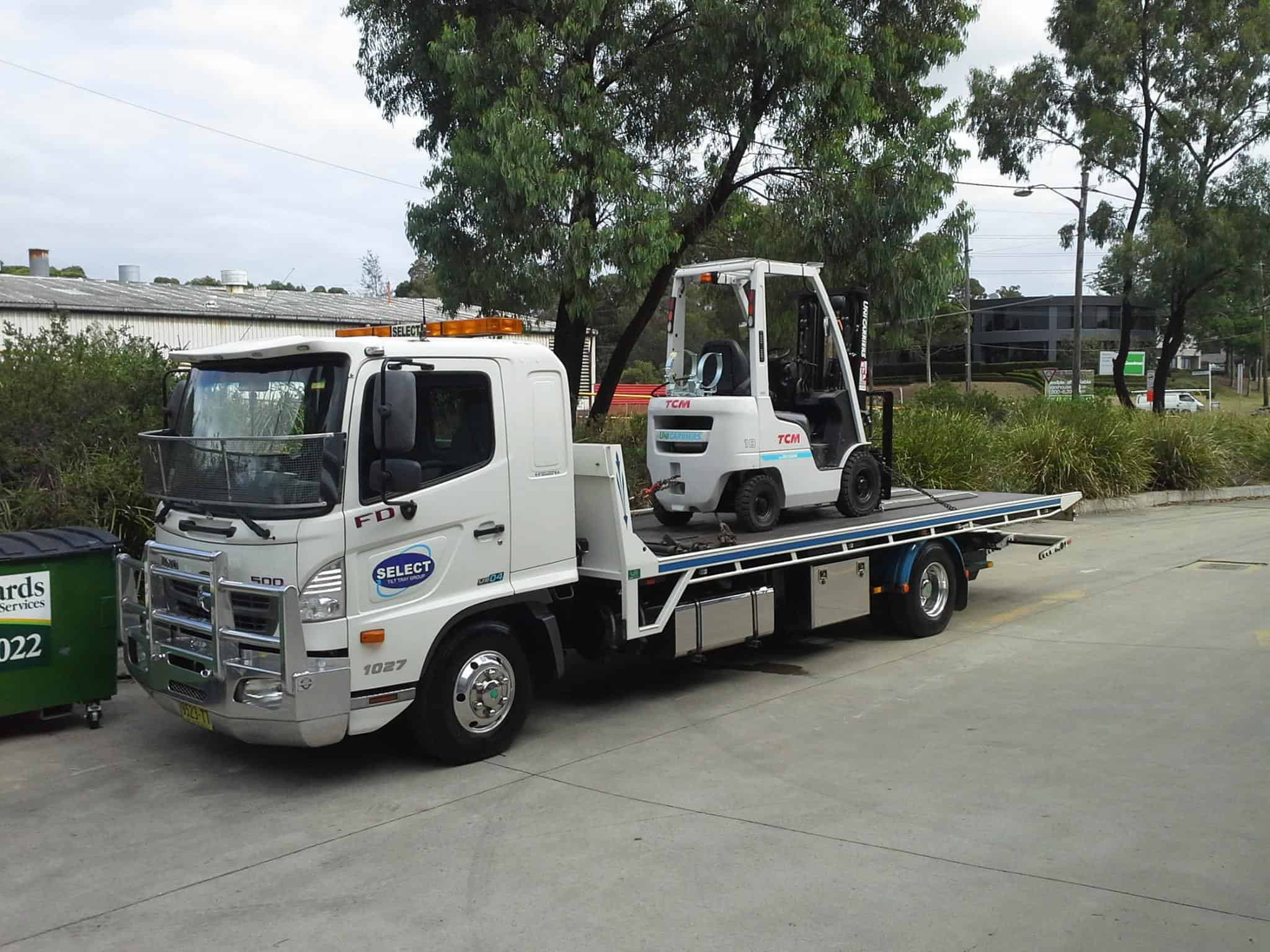 forklift transport in sydney