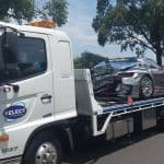Accident race car transport