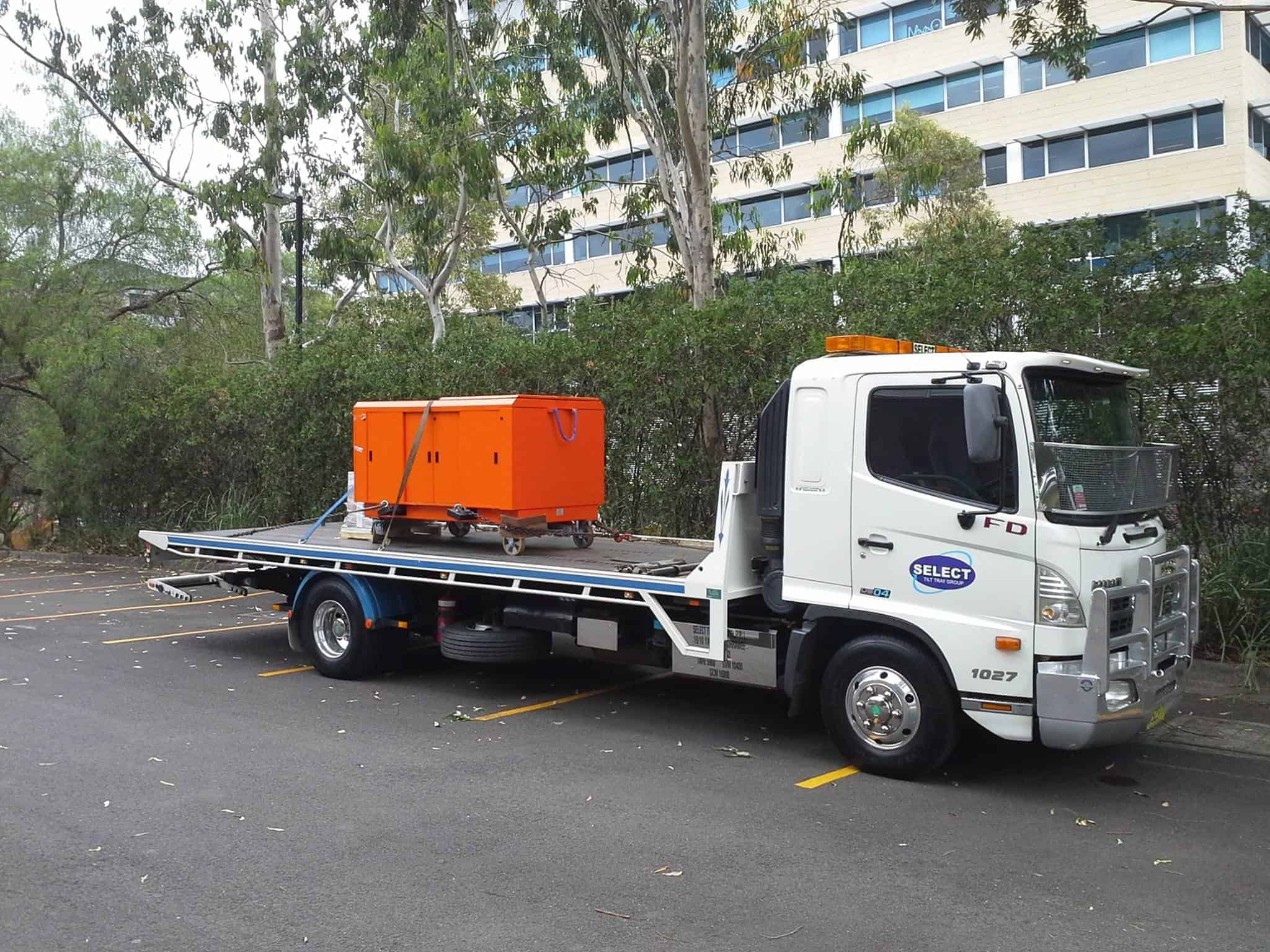 heavy machinery transport in sydney