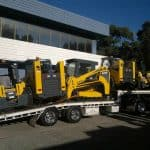 Five Forklift Transport