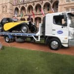 Classic vintage car transport