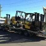 Small Forklift Towing