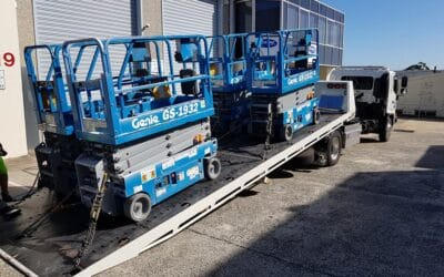 boom lift machinery storage