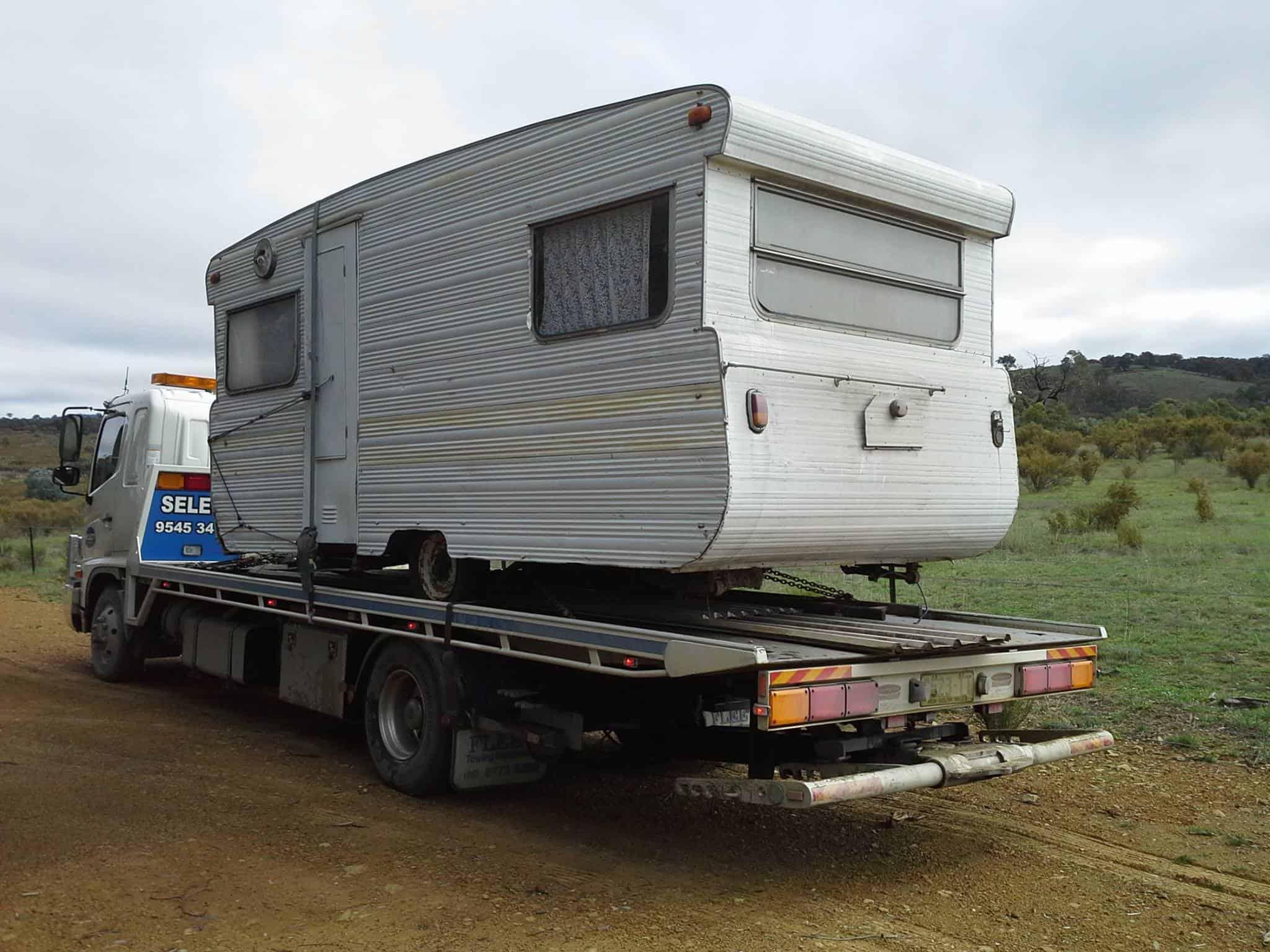 caravan tow truck in sydney