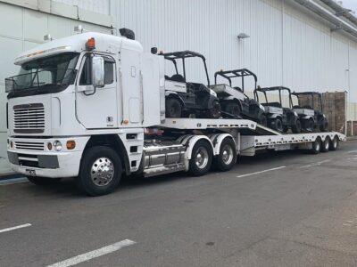 golf cart machinery transport
