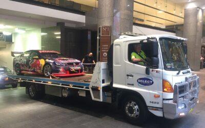 secure race car transport